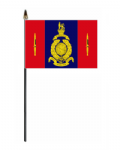 45 Commando Royal Marines Hand Flag - Small.